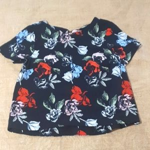 Size 8 floral Dorothy Perkins top